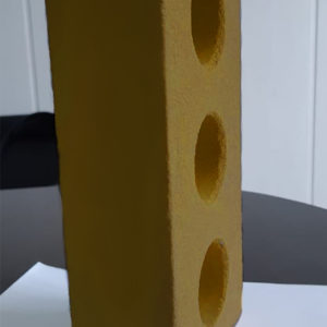 Одинарный пустотелый 250 120 65 горчичный