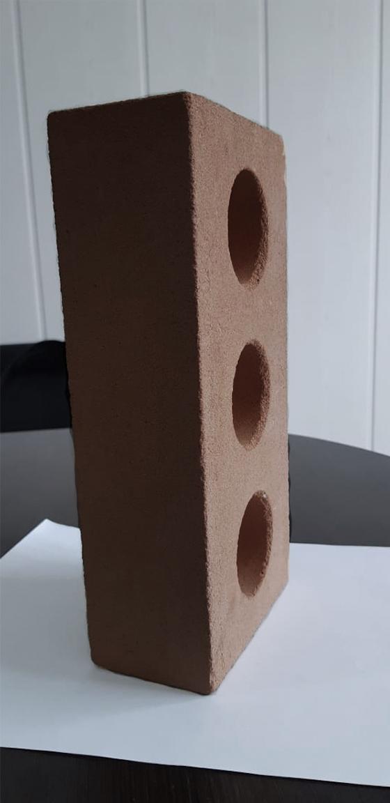 Одинарный пустотелый 250 120 65 коричневый