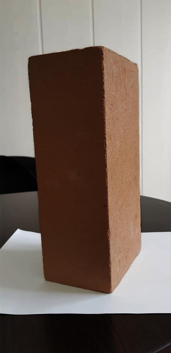 Одинарный пустотелый 250 120 88 шоколадный